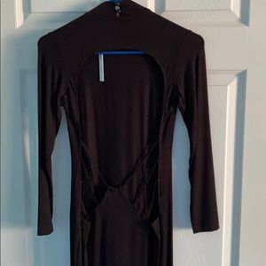 NWT: ASOS Backless Body-con Dress